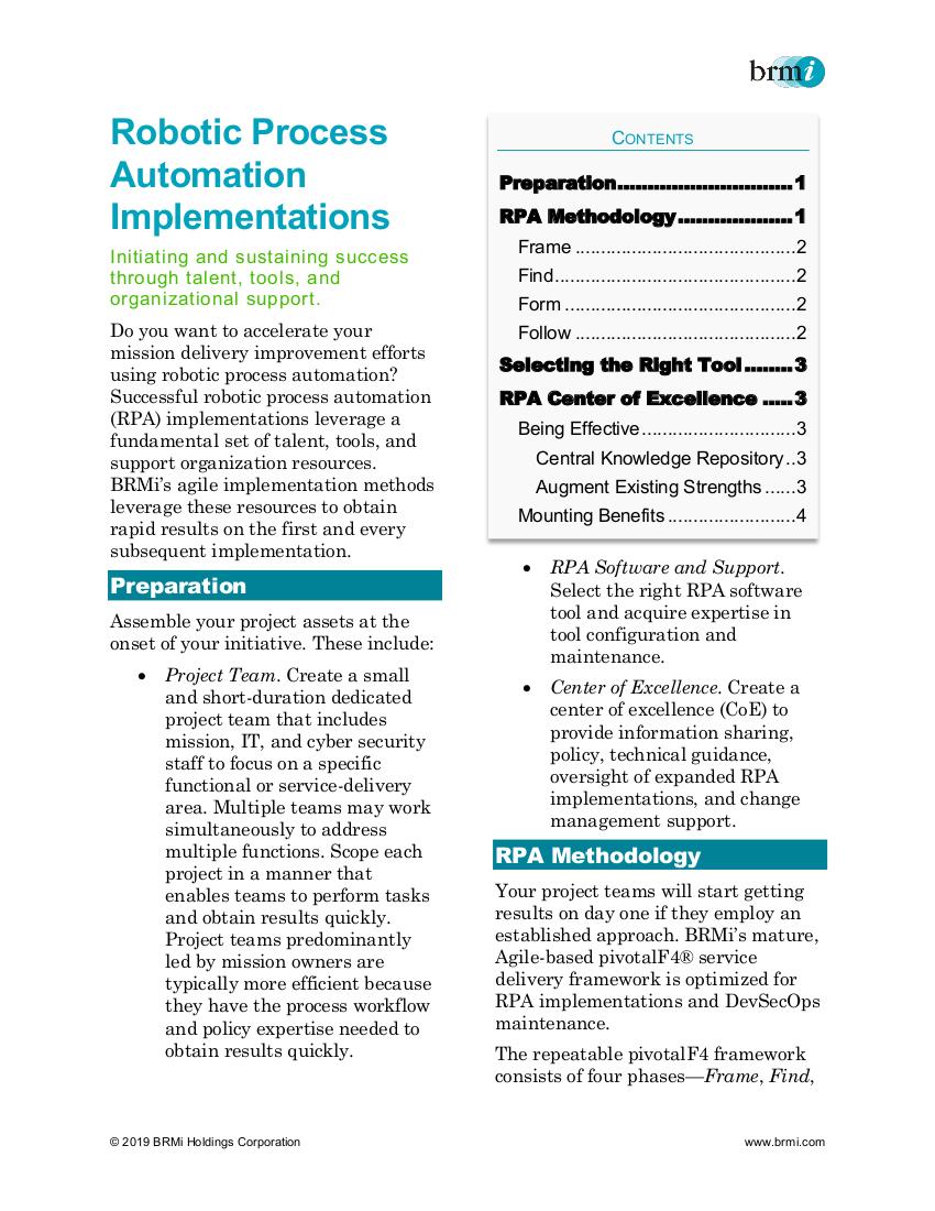 Services_Business Optimization – BRMi